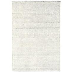 Debenhams - Cream woollen 'Linley' rug