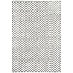 Debenhams - Silver grey woollen 'Oska' rug