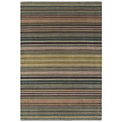 Debenhams - Blue wool 'Pimlico' rug