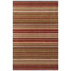 Debenhams - Red wool 'Pimlico' rug
