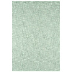 Debenhams - Light blue wool 'Tweed' rug