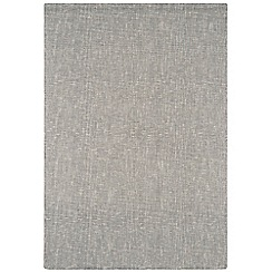 Debenhams - Cream wool 'Tweed' rug