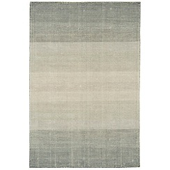 Debenhams - Grey wool and cotton 'Hays' rug