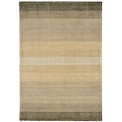 Debenhams - Taupe wool and cotton 'Hays' rug