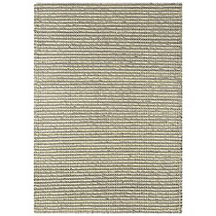 Debenhams - Yellow wool and cotton 'Linden' rug