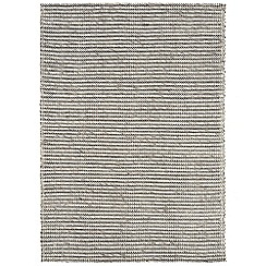 Debenhams - Grey wool and cotton 'Linden' rug