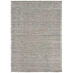 Debenhams - Grey wool and cotton 'Linden' rug