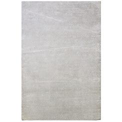 J by Jasper Conran - Light grey 'Herringbone' rug