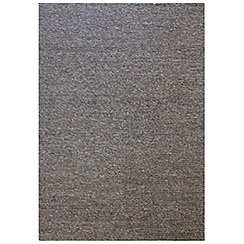 RJR.John Rocha - Grey woollen 'Plait' rug