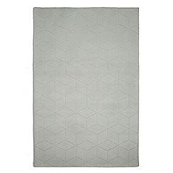 Plantation Rugs - Light green wool 'Illusory' rug
