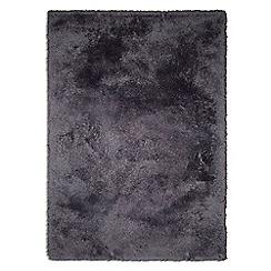 Debenhams - Dark grey 'Snuggles' rug