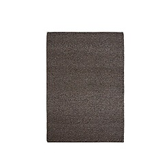 Debenhams - Dark brown woollen 'Loopy Tunes' rug