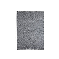 Debenhams - Light grey woollen 'Loopy Tunes' rug