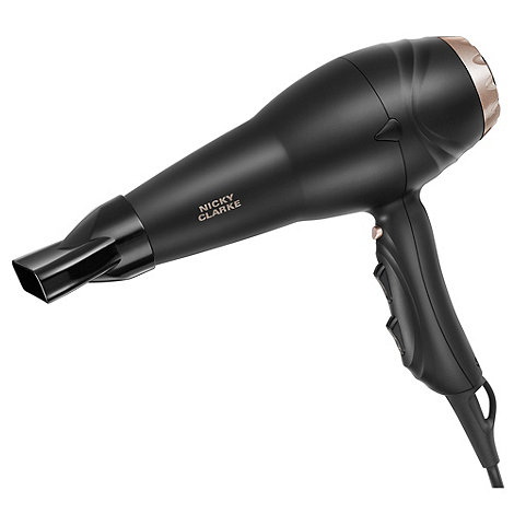 Nicky Clarke - Pro 200 hair dryer with ceramic diffuser NHD109