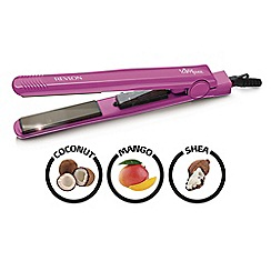 Revlon Triple Complex Raspberry Pie hair straightener RVST2415RPUK