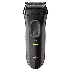Braun - Black Shaver series 3000