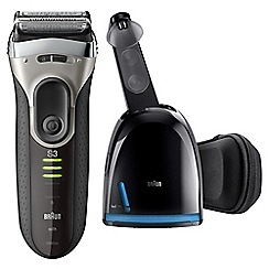 Braun - Black rechargeable electric shaver 3090CC