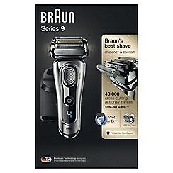 Braun - Black Men's electric foil shaver 9290CC