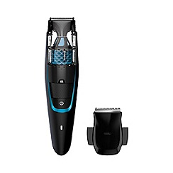 Philips - Series 7000 vacuum beard and stubble trimmer BT7202/13
