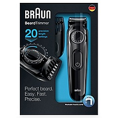 Braun - Beard Trimmer BT3020