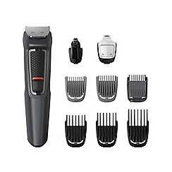 Philips - Series 3000 9-in-1 Grooming Kit for Face, Beard and Body MG3747/13