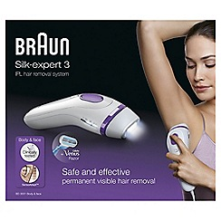 Braun - Permanent visible hair removal Ipl bd3001