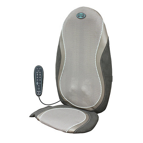Homedics - Gel +Shiatsu+ massage cushion GSM-400H-GB