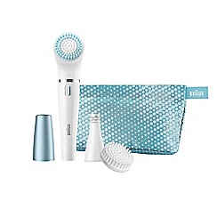 Braun - FaceSpa cleansing brush and mini epilator