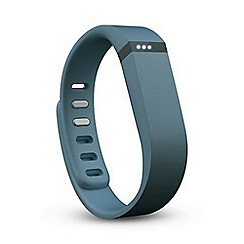 Fitbit - Slate 'Flex' wireless activity and sleep tracker wristband FB401SL