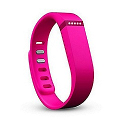 Fitbit - Pink 'Flex' wireless activity and sleep tracker wristband FB401PK