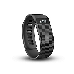 Fitbit - Large black 'Charge' wireless activity and sleep tracker wristband FB404BKL