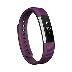 Fitbit - Plum 'Alta' fitness tracker FB406PM