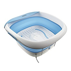 Homedics - Luxury foldaway foot spa with heat FB-350-GB