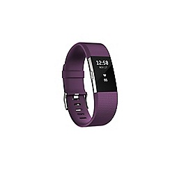 Fitbit - Plum 'Charge 2' HR wireless activity and heart rate tracker FB407SPML-EU