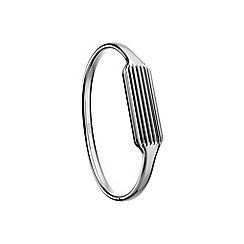 Fitbit - Silver 'Flex 2' accessory bangle
