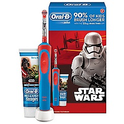 Oral-B - Disney star wars stages power  kids electric toothbrush