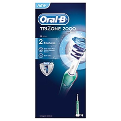 Braun - Oral-B white tz2000 toothbrush