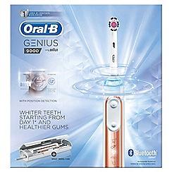 Oral-B - Genus rose gold electric toothbrush 9000