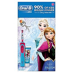 Oral-B - Kids frozen and paste toothbrush