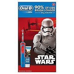 Oral-B - Kids star wars and paste toothbrush 76734