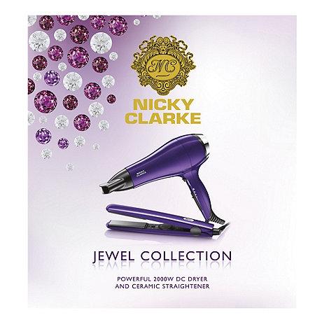 Nicky Clarke - Jewel dryer and straightener gift set NGP198