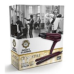 Nicky Clarke - Nicky Clarke Dryer & Straightener Styling Set