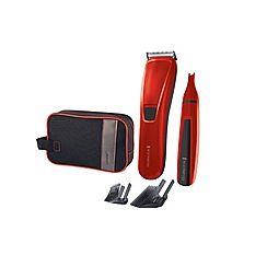 Remington Precision cut cordless washable hair clipper gift set HC5302