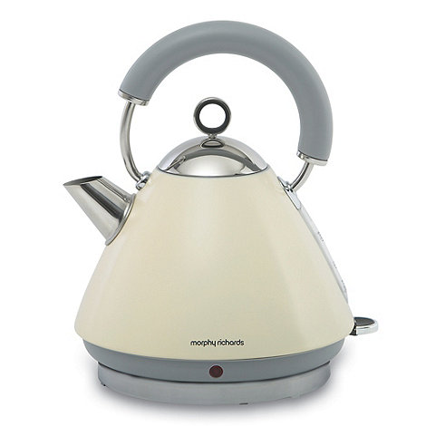 Morphy Richards - Cream +Accents+ traditional kettle 43775