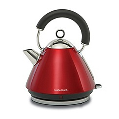 Morphy Richards - Red accents traditional kettle - 43772