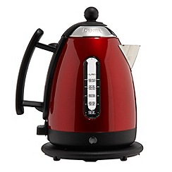 Dualit - Red metallic jug kettle 72515