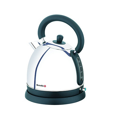 Breville - Silver VKJ458 polish jug kettle