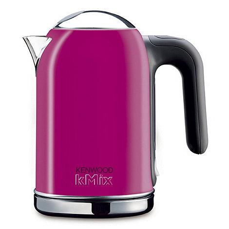 Kenwood - Magenta pink Kmix jug kettle SJM049