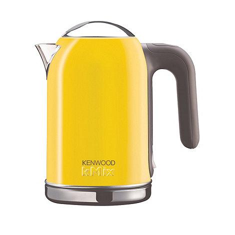 Kenwood - Yellow Kmix jug kettle SJM048