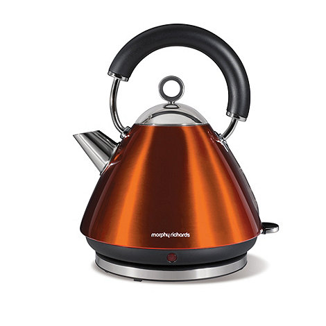 Morphy Richards - Copper +Accents+ traditional kettle 43778